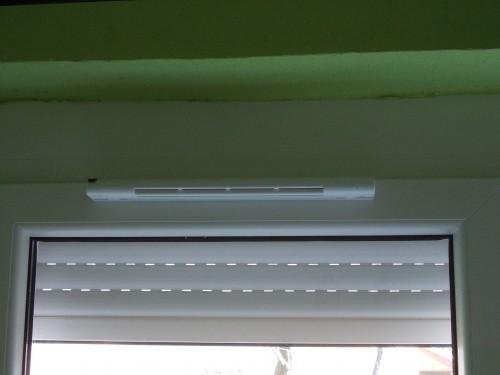 ablakszellőző légbevezető