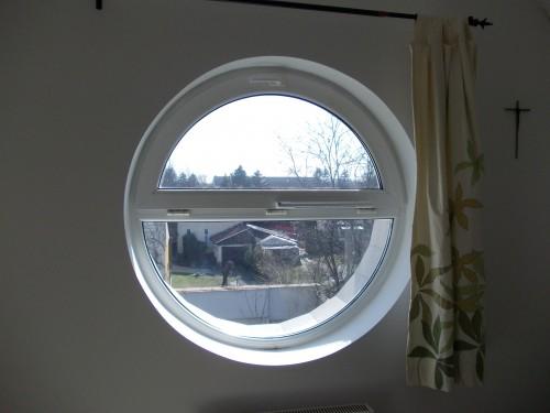 ablakszellőző kör ablakra